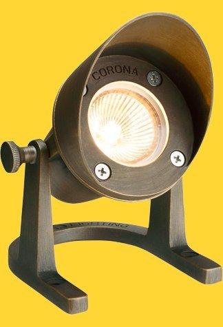 Corona Lighting CL-308-AB Underwater Light in Antique Bronze w/ Lamp 3-1/4