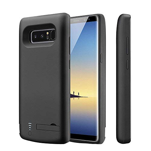BIGFOX Galaxy Note 8 Battery Case - 6500mAh Portable Battery Bank Power Case Backup Charger Case Power Pack External Protective Cover - [with Kickstand & Extra USB Output Port]