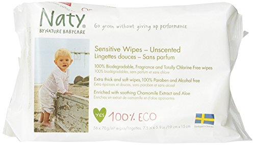 Nature Babycare Eco-Sensitive Wipes, New Value Pack Size 1344 Count Pack by Nature Babycare
