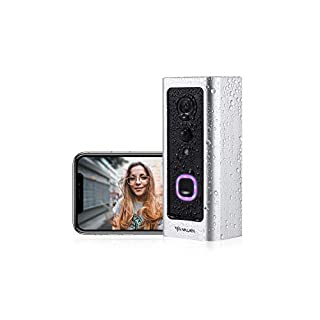 Video Doorbell, VALKIA Video Doorbell Wireless Wifi with 1080P Wide Angle, Motion Activated Alerts, 2-Way Audio, Night Vision, Waterproof and Easy Installation Video Doorbells Camera for Home Security