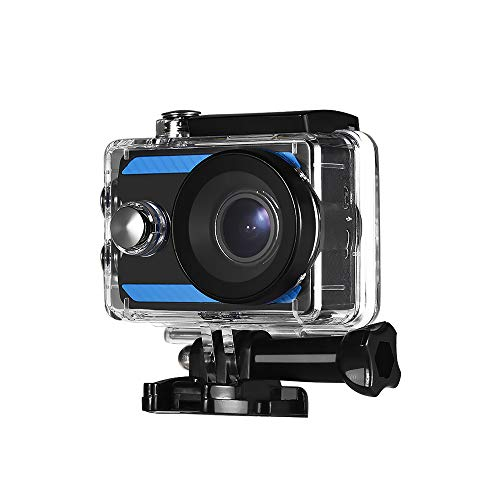 Andoer 4K Ultra HD WiFi Sports Action Camera 170° Wide Angle 2.0 Inch LCD Display 30 Meters Waterproof with 2pcs Li-ion Batteries