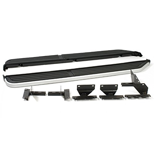 (Land Rover LR3 LR4 Discovery 3 05-16 Aluminum Running Board Side Step Direct Fit)