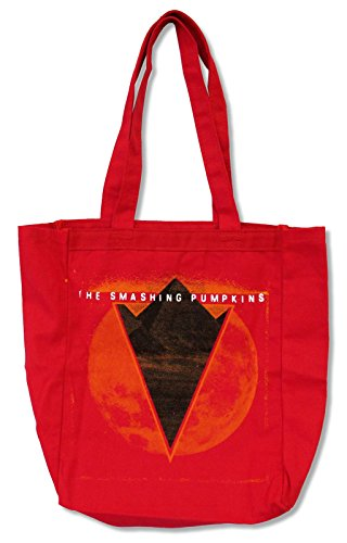 [해외]Smashing Pumpkins 피라미드 레드 캔버스 토트 백/Smashing Pumpkins Pyramid Red Canvas Tote Bag