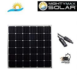 Mighty Max Battery 150 Watt Monocrystaline Solar Panel Brand Product