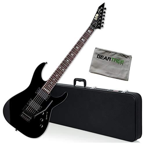 ESP KH-602 Kirk Hammett Signature Series Black Electric Guitar Bundle w/Case