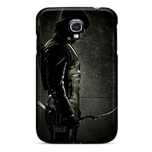 Cases-best-covers Galaxy S4 High Quality Hard Phone Covers Allow Personal Design Colorful Green Arrow Skin [oBI23495mxCH]