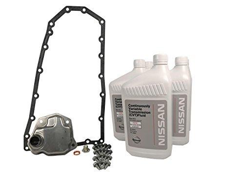 Nissan Genuine OEM CVT Maintenance Kit Altima 2007-2012 2.5 4 Cylinder (Peak Automatic Transmission Fluid)