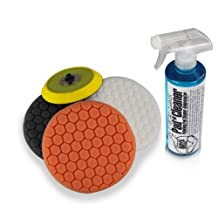 Chemical Guys BUFHEXKITS4 Hex Logic Dual Action/Porter Cable Buffing Pad Sampler Platter Kit (5 Items)