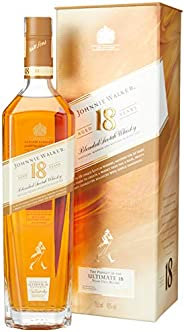 Whisky Johnnie Walker Ultimate 18, 18 Anos, 750ml
