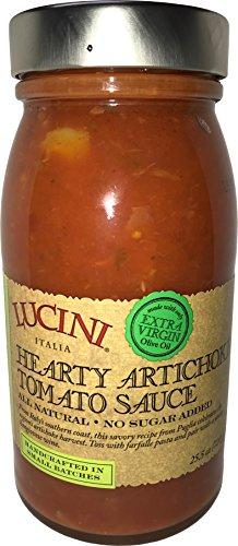 Lucini Artichoke Tomato Pasta Sauce, 25.5 Ounce
