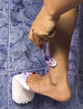 Zadro Lum01 Luma Step N Shave Lighted Foot Rest - 1