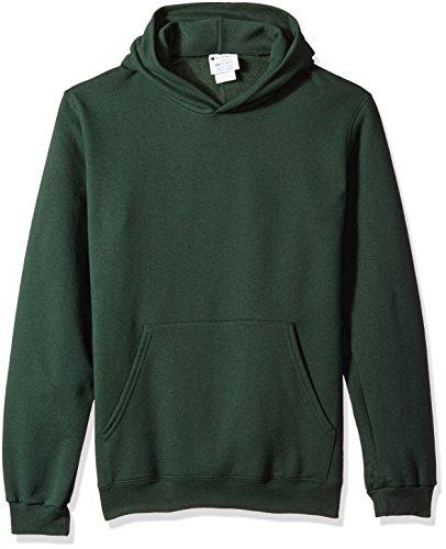 Champion Boys Boys' Big Powerblend Eco Fleece Pullover Hoodie, Dark Green, S ()