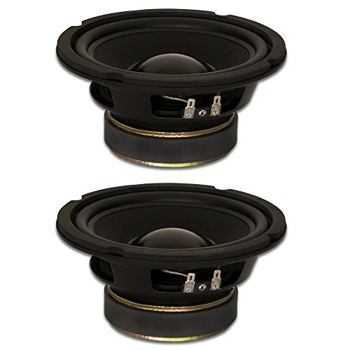 Goldwood Sound GW-5028//S Shielded 5.25 Woofer 130 Watt 8ohm Replacement Speaker