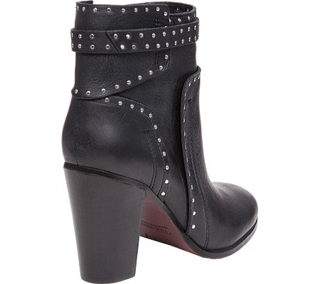 Vince Camuto Women's Faythes Ankle Bootie B01FYWJ9CI 5 B(M) US|Black Buttery Grain Tumble