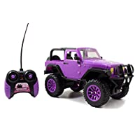 Jada Toys GIRLMAZING Big Foot Jeep R /C Vehículo (escala 1:16), púrpura