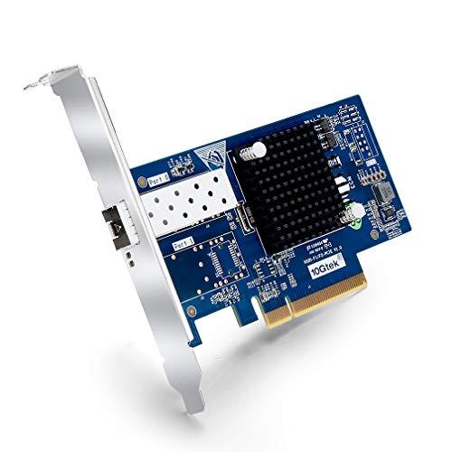 ipolex 10Gb PCI-E Network Card X520-10G-1S, Single SFP+ Port, 10G PCI Express NIC Support Windows Server, Win 7/8/10/Visa, Linux, VMware