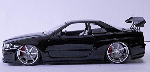 Jada 1:24 BIGTIME KUSTOMS NISSAN SKYLINE GT-R (BNR34) for sale  Delivered anywhere in USA