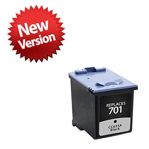 Black Ink Cartridge for Hewlett Packard CC635A (HP 701) from Swift Ink
