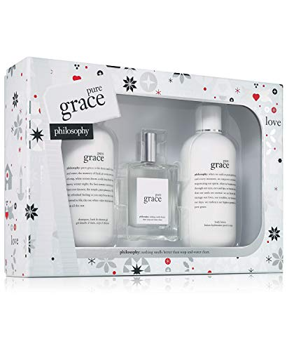 (Philosophy - Pure Grace 3-Piece Gift Set Holiday 2018 )