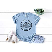 Ain't no Laws When You're Drinking Claws T-Shirt Day Drinking Top Summer T-shirt Boat Shirt mens drinking shirt mens tshirt