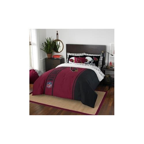 Arizona Bed Nfl Cardinals (The Northwest Company Officially Licensed NFL Full Size Bed in a Bag Set)