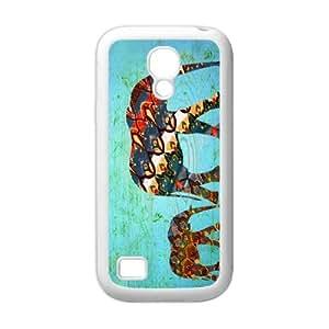 Funny Cute Mother and Baby Elephant SamSung Galaxy S4 mini i9192/i9198 (TPU) Case
