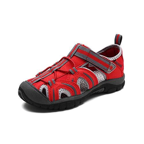 Red Girls Sandals - DREAM PAIRS Girls 171112-K RED Light