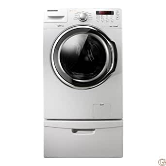WF331ANW/XAA 3.7 Cu. Ft. 9-Cycle Ultra Capacity Front Load High-Efficiency Washer Noise Reduction Water Efficiency Energy Star Qualified: