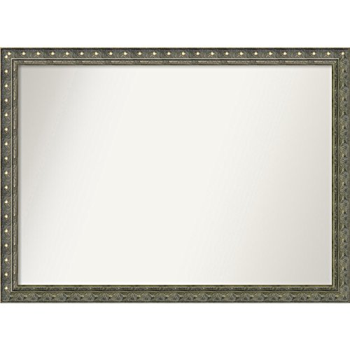 Amanti Art Wall Mirror, Choose Your Custom Extra Large, Barcelona Champagne Wood: -