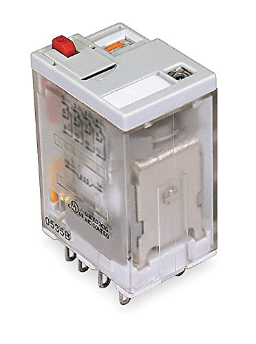 Dayton 1EHT4 Relay, Ice Cube, 4PDT, 24VAC, Coil Volts