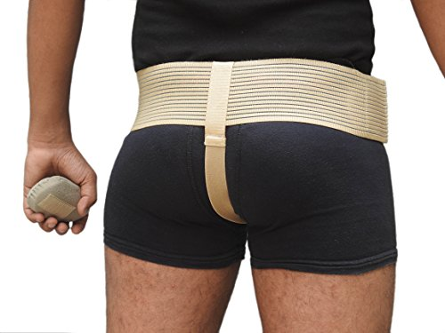 Wonder Care- Inguinal Hernia Support Truss for Single Inguinal or Sports Hernia with one Removable Compression Pads & Adjustable Groin Straps Surgery & injury Recover A-103 Right-S by Wonder Care (Image #7)