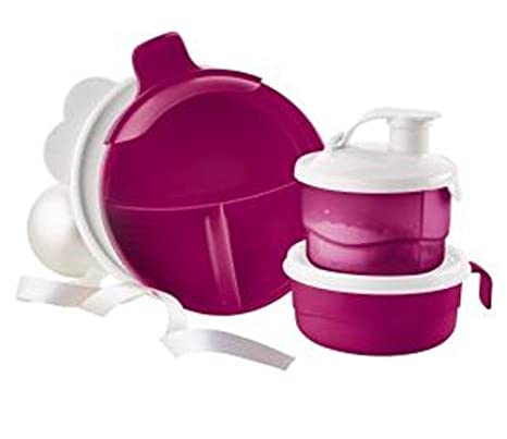 formula dispenser tupperware baby stages feeding set feeding cup divided dish