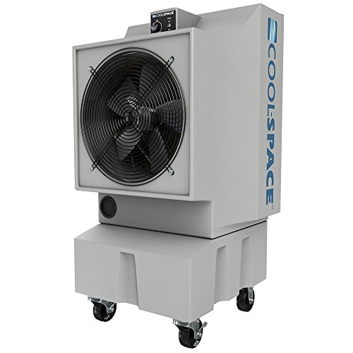 Cool-Space CS-16-VD Variable Drive Portable Evaporative Cooler, 18-Inch