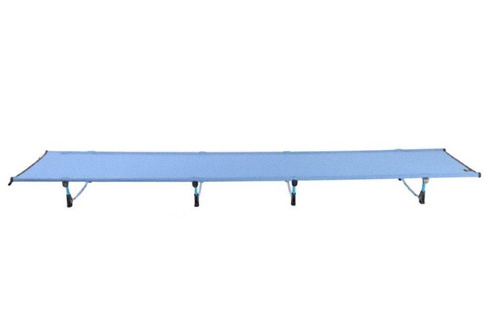 2.8LB キャンプマット w60 * L185cm 超軽量折りたたみベッド 重量制限のメジャー 440LB パーフェクトハイキング旅行 ベビーベッド ホームベッド B07FC1JQ6B Blue Blue