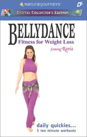Bellydance Fitness for Weight Loss featuring Rania: Daily Quickies... 5 Ten Minute ()