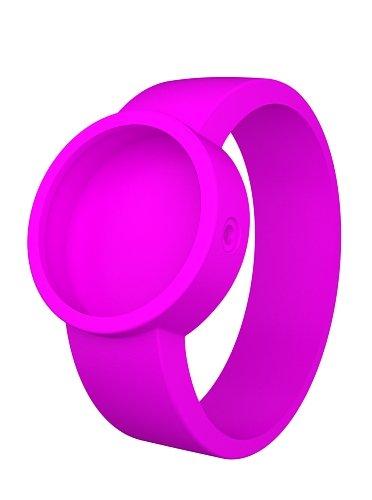 O clock COVERS_FR - Reloj unisex con correa de silicona, color rosa: Amazon.es: Relojes