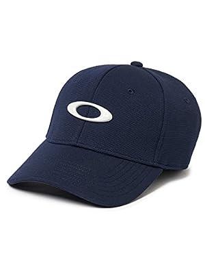 Oakley Mens TINCAN CAP, FATHOM/LIGHT GREY, L/XL from Oakley