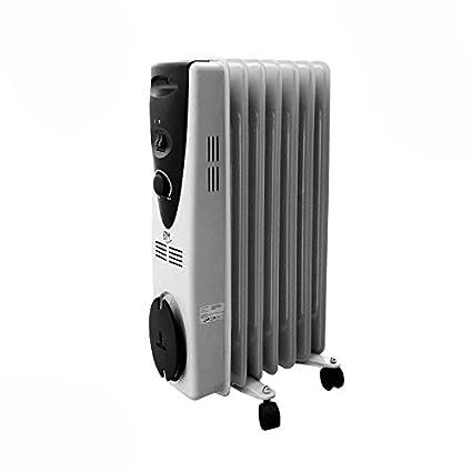 EDM Radiador de aceite 1500W (7 elementos)