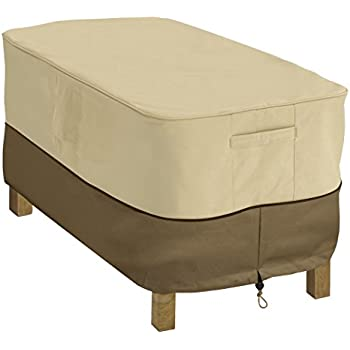 cover furniture. classic accessories veranda patio coffee table cover durable and water resistant outdoor furniture
