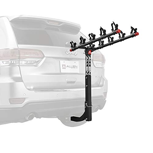 Allen Sports Deluxe 5-Bike Hitch Mount Rack with 2-Inch Receiver (Best Rv For Single Women)