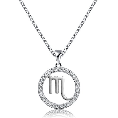 Bella Vida Sterling Horoscope Pendant Necklace product image