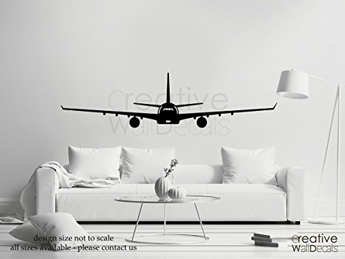 Price comparison product image Vinyl Wall Decal Sticker Plane Air Military Airplane Boing Airbus Aircraft R1825