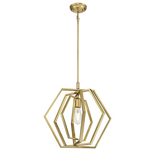 Westinghouse Lighting 6351200 Pendant, - Light Fixture Pendant Brass