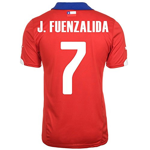 Puma J.FUENZALIDA # 7 Chile Local Jersey (L)