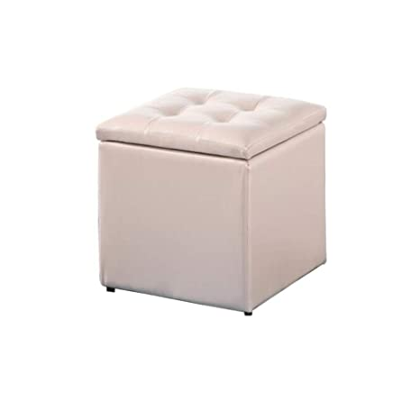 Super Amazon Com Ycsd Leather Square Tufted Storage Ottoman Pdpeps Interior Chair Design Pdpepsorg