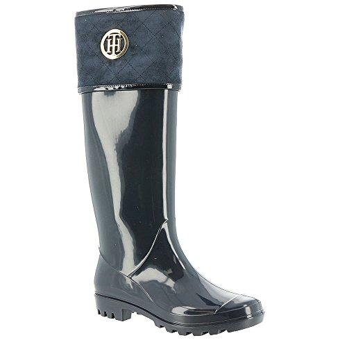 Tommy Hilfiger Womens Shiner Rain Boot Marine