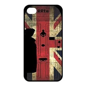 Sherlock - Hot TV Best Design TPU Case Protector For Iphone 4 4s iphone4s-90642 Kimberly Kurzendoerfer