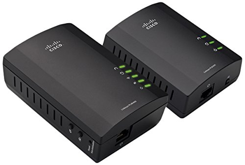 Linksys Plwk400 Powerline Av Wl 1port Fe Network Extender Kit Np (Linksys Powerline Av Wireless Network Extender Plwk400)