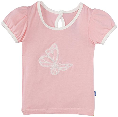 KicKee Pants Applique Tee (Baby) - Lotus Butterfly-6-12M