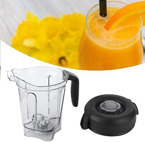 2L récipient de Nourriture/Fruits Acrylique + Caoutchouc matériel sûr mélangeur de Nourriture de Poche pour la Maison, Restaurant, Magasin de Fruits